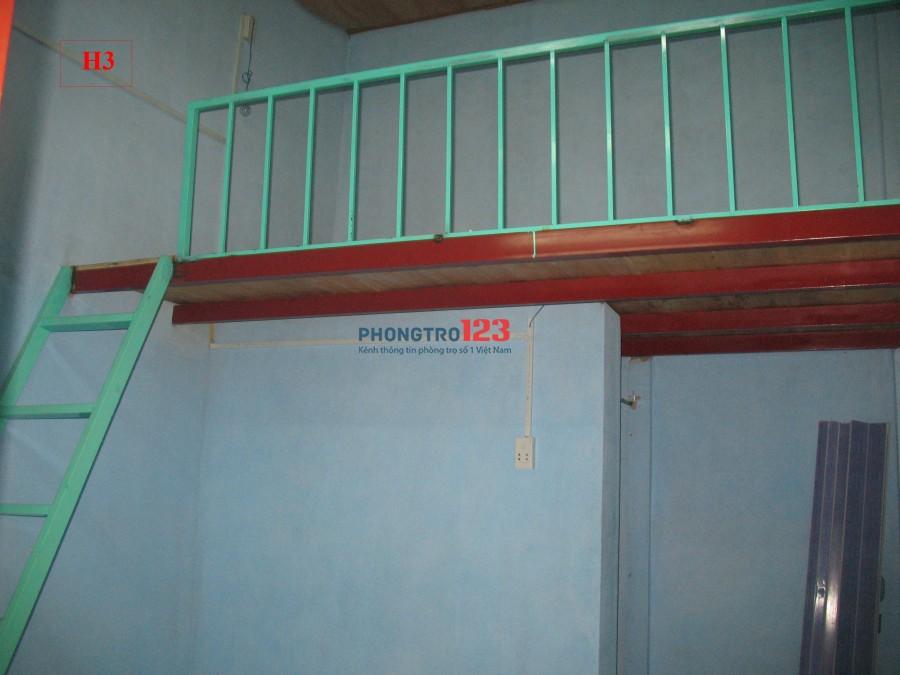 Phòng 24m2, có gác, wc riêng, giờ tự do, không chung chủ, cạnh ĐH Nguyễn Tất Thành