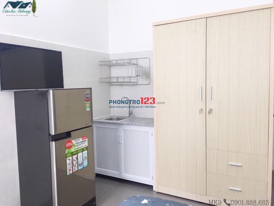 Cho thuê phòng full nội thất - thoáng mát - quận Bình Thạnh