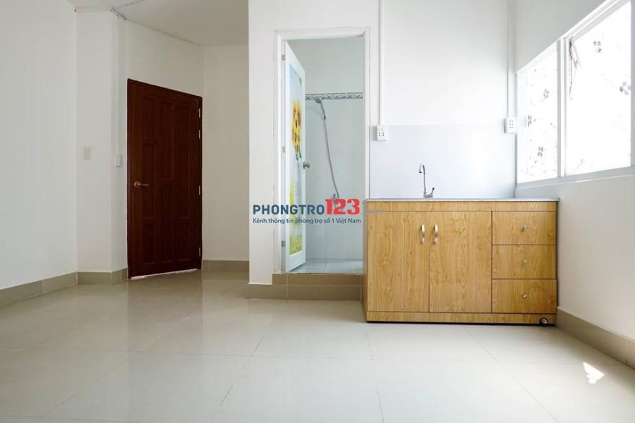 CĂN HỘ MINI CHO THUÊ - Có Tủ Bếp, Máy Lạnh, 1PN, PK, 269/45 Phan Huy Ích, P.14, Q.Gò Vấp, DT: 40m2 (có thể thành 2PN)