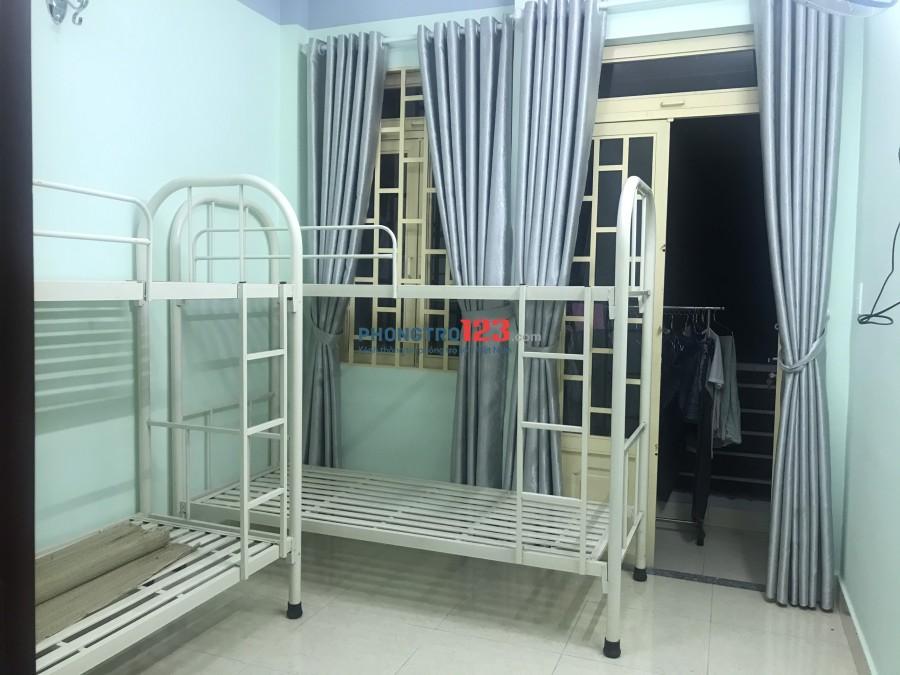 Cần chia phòng trọ Q.12 gần Metro 850k không phát sinh thêm gì, phòng mới xây có giường