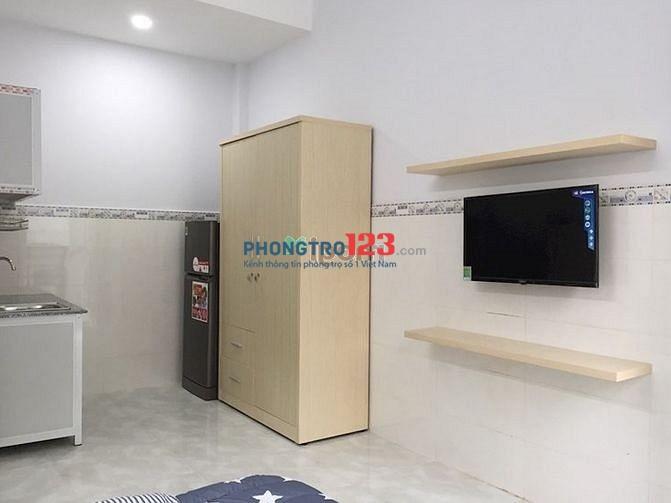 Phòng trọ cho thuê dạng căn hộ mini full nội thất ngay Tô Ngọc Vân - Q12 - gần Ngã Tư Ga