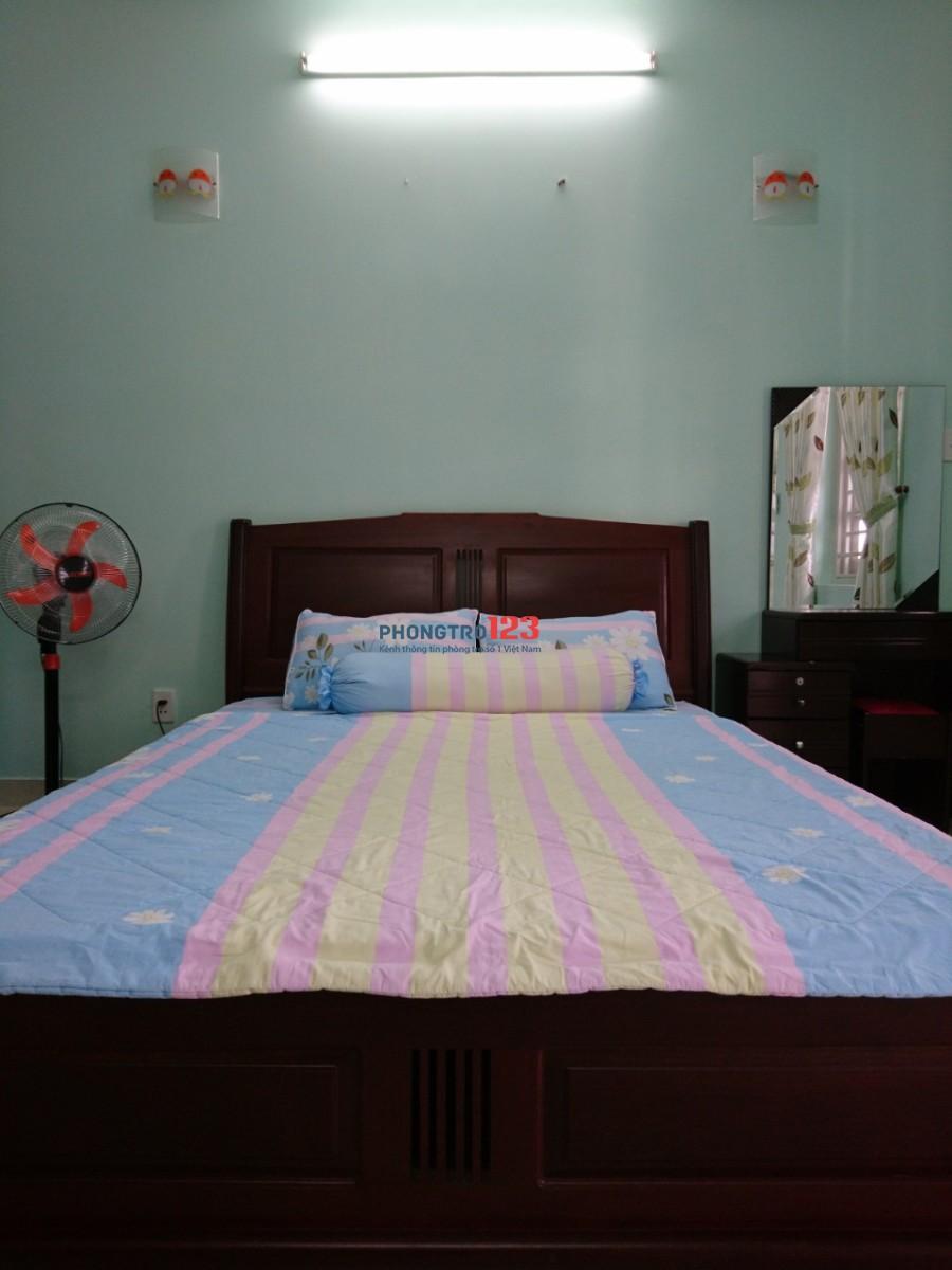 Cho thuê phòng trọ cao cấp hẻm 231 Dương Bá Trạc, P.1, Q.8 Full nội thất. LH: MS Huyên