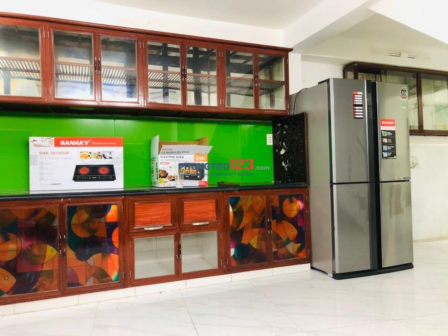 Ký túc xá 4.0, full nội thất bao điện nước, Nguyễn Duy Dương, Quận 5. Giá chỉ 1.4tr/tháng