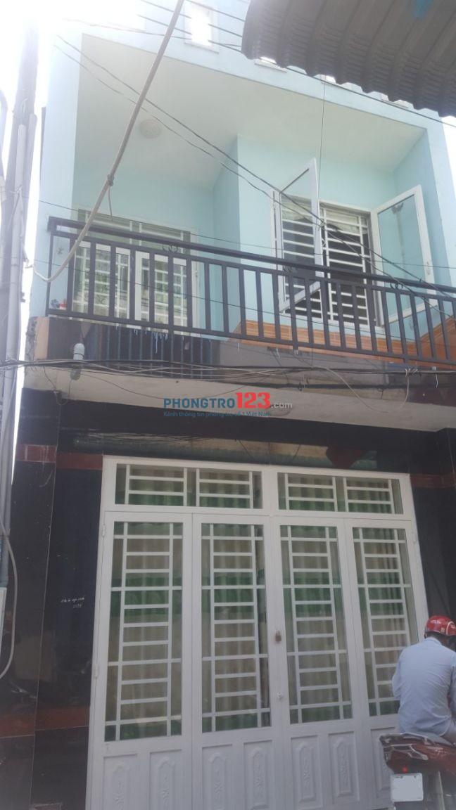 Cho thuê nhà riêng Hương Lộ 2_Bình Trị Đông_40m2