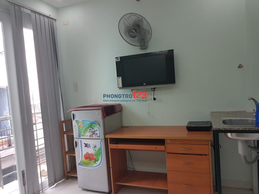 Cho thuê phòng mới, đẹp, đầy đủ tiện nghi tại trung tâm Quận 3