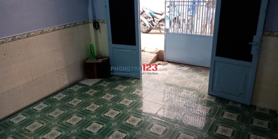 Nhà nguyên căn 1 lầu 4x9 hẻm 3m tại Hẻm 21 Đường 14, P.Bình Hưng Hòa A, Bình Tân. Giá 6 triệu/th