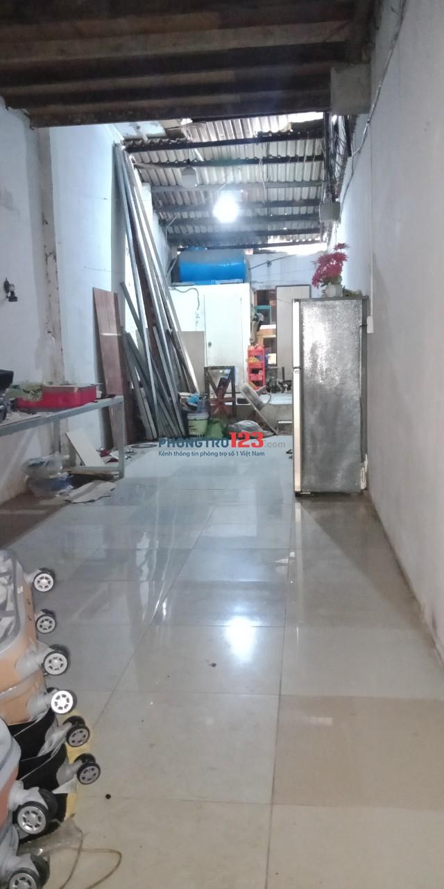 Cho thuê nhà nguyên căn vừa ở vừa kinh doanh cách Trường Sa 20m hẻm 218 Bùi Thị Xuân, Tân Bình