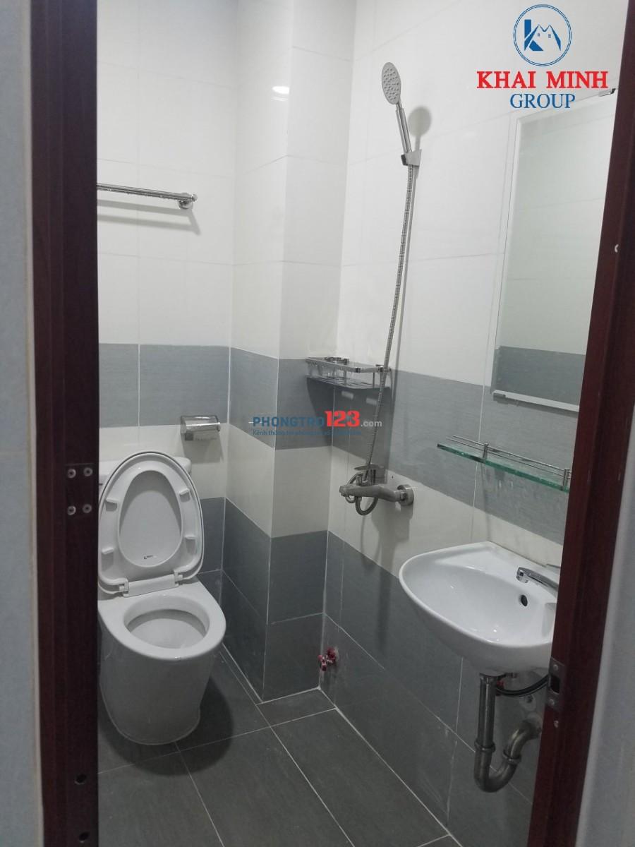 Phòng mới 100%, wc riêng, gần Hàng Xanh, 4A/95 D1