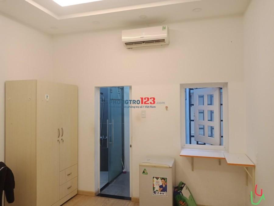 Phòng trọ có ban công giờ tự do 4,5tr- Nguyễn Trãi- Quận 5