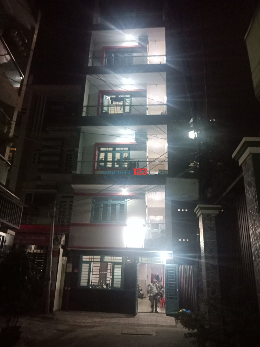 Cho thuê phòng trọ mới xây 100% Quận Bình Tân