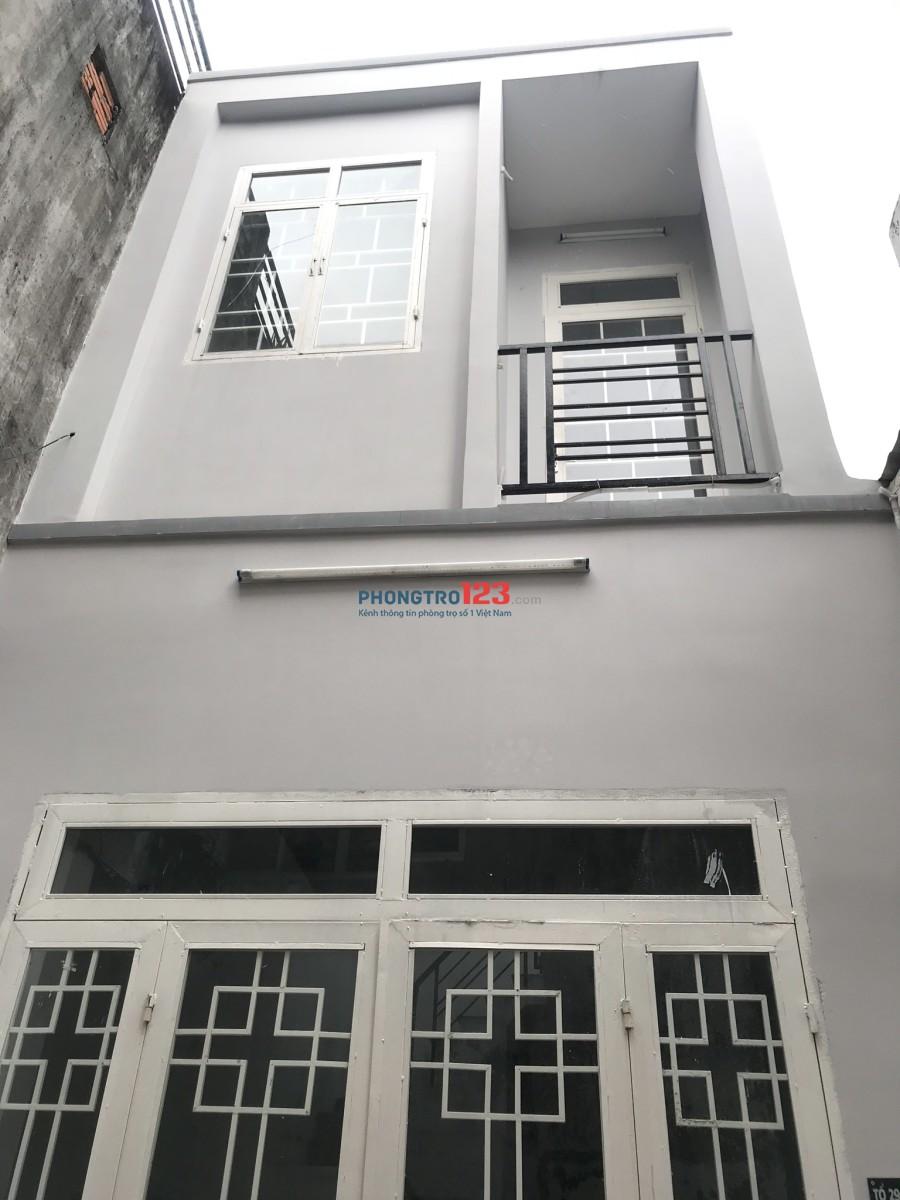 Cho thuê nhà nguyên căn 02 tầng, đường Tô Ký
