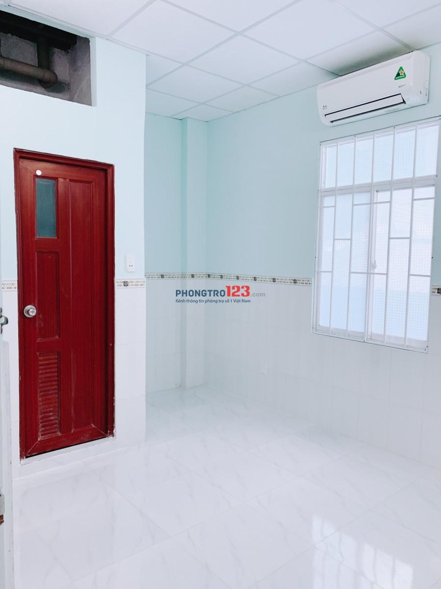 Cho thuê phòng mới có máy lạnh tại Hẻm 290 Lý Thái Tổ, Q.3. Giá 3,3tr/tháng, LH Ms Hiền