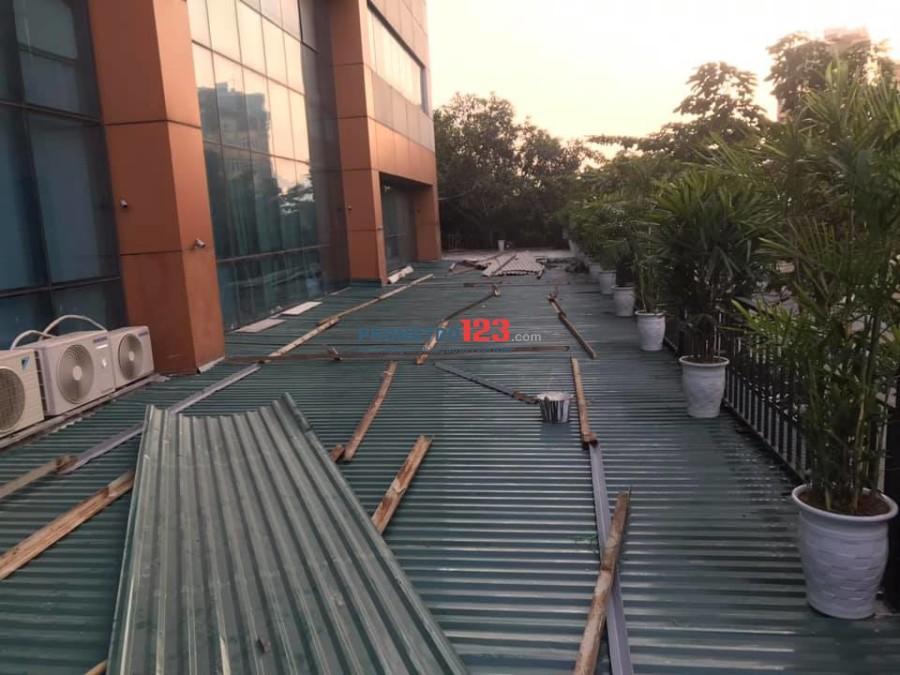 Cho thuê 320m2 mặt bằng kinh doanh ở 36 Hoàng Cầu