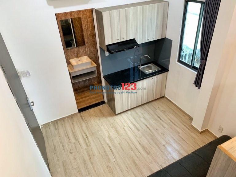 Cho thuê căn hộ ngay đường Thăng Long gần công viên Hoàng Văn Thụ