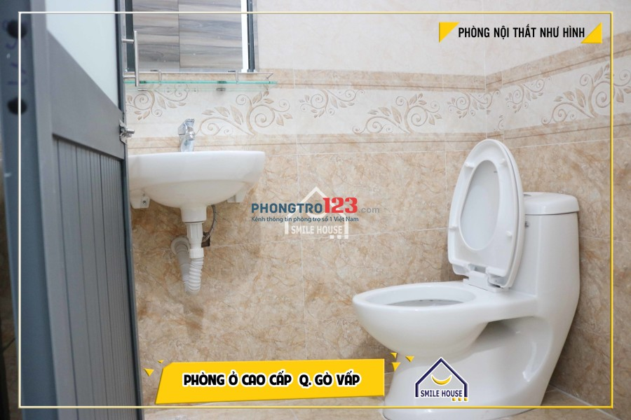 Cho thuê phòng trọ quận Gò Vấp, giá rẻ, wc riêng, Tủ lạnh, tủ quần áo, tủ bếp...116/46 Dương Quảng Hàm