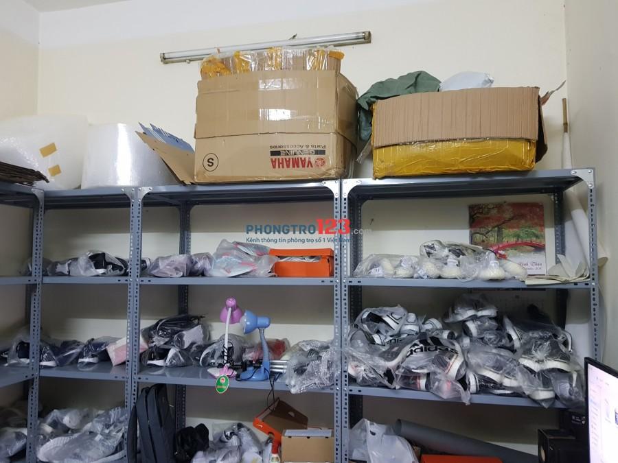 Cần cho thuê 2 phòng riêng làm kho hàng khu vực Chùa Bộc
