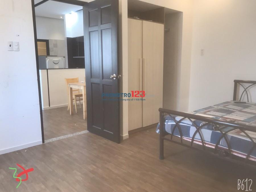 Căn hộ 40m2 1PN đủ nội thất ban công thoáng mát-Gò Vấp-Lê Quang Định