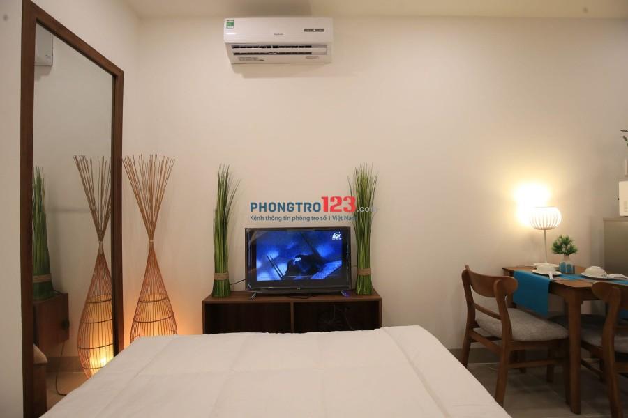 Cần cho thuê gấp căn hộ mini giá rẻ đầy đủ nội thất ngay CV Gia Định, quận Phú Nhuận