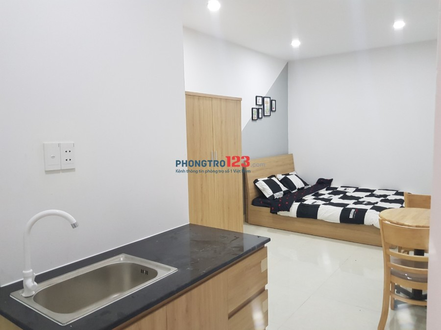 Cho thuê căn hộ mới xây giá từ 3.5tr-5.5tr, full nội thất mới 100% ở Gò Vấp