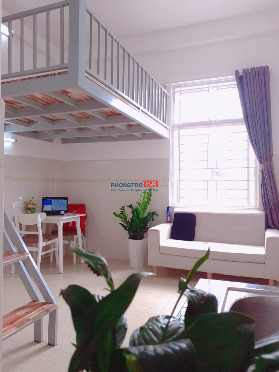 Căn hộ có gác đầy đủ nội thất ở đường Thống Nhất, quận Gò Vấp