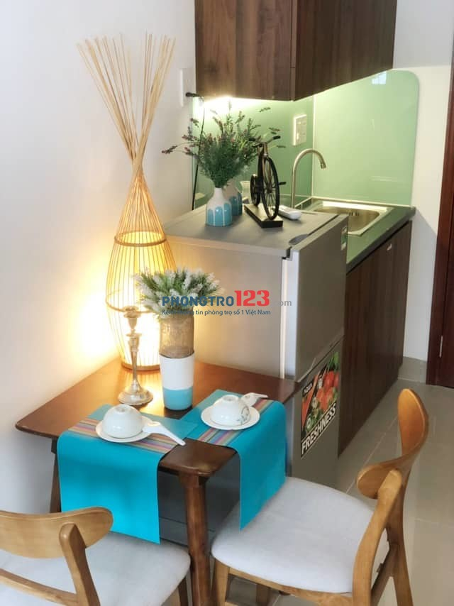 Căn hộ đầy đủ tiện nghi đối diện coopmart Nguyễn KIệm, Phú Nhuận
