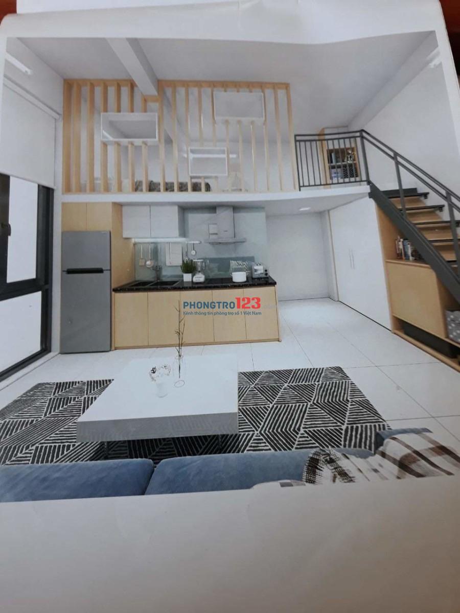 Cho thuê căn hộ full nội thất, thoáng mát sạch sẽ