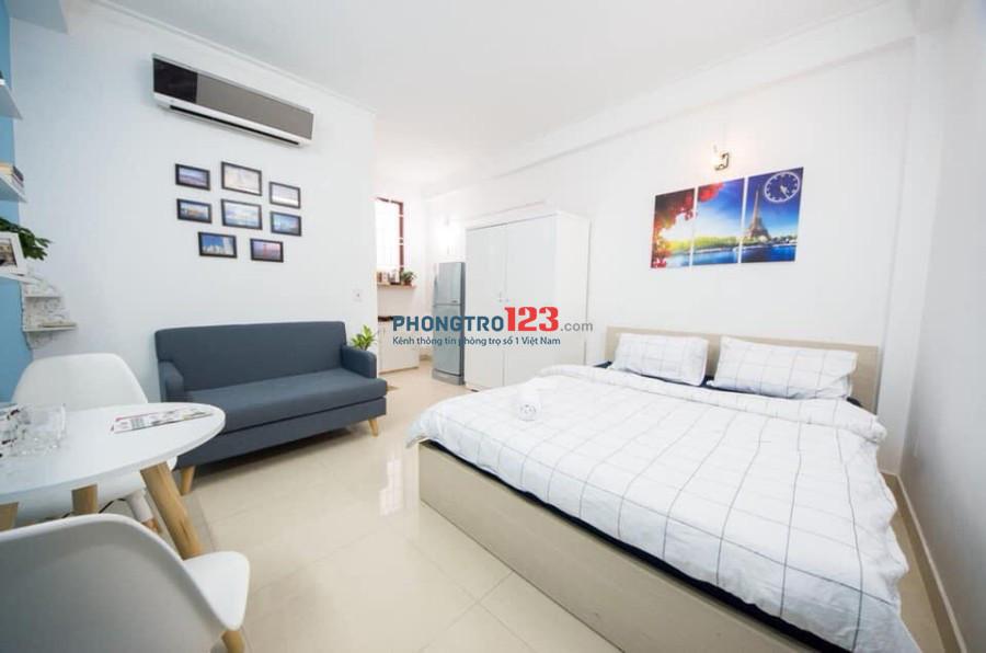 Cho thuê căn hộ mini ngay thảo cầm viên, tiện nghi, an ninh. Chu Văn An, quận Bình Thạnh