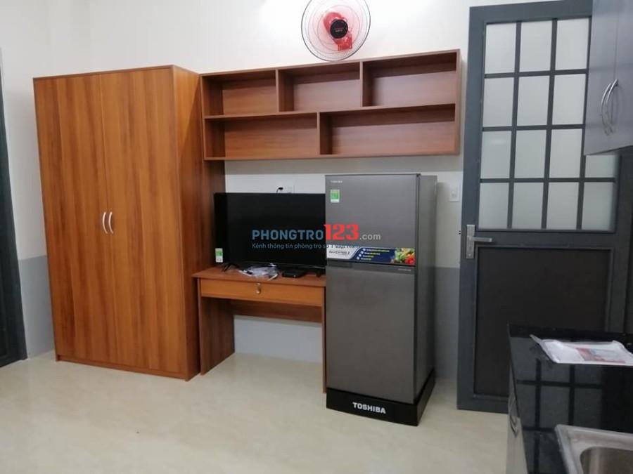 Chung cư mini 1PN full nội thất, 5.7tr, F.Phú Thạnh, Q. Tân Phú