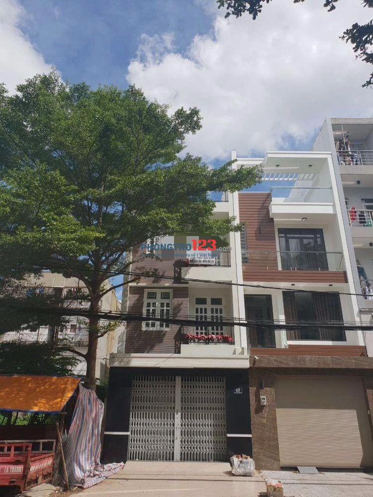 Cho thuê nhà nguyên căn 3 lầu 5x20 mặt tiền 65 đường 57, P.Tân Tạo, Q.Bình Tân