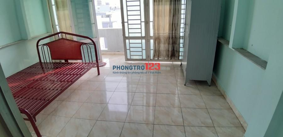 Cho thuê phòng trọ ban công, sân thượng, có full nội thất, máy lạnh, Phan Huy Ich - Quang Trung