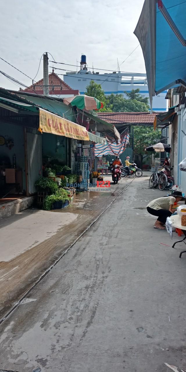 Cần sang nhà nguyên căn KD giặt sấy ngay chợ đường Đông Bắc, Tân Chánh Hiệp, Q.12