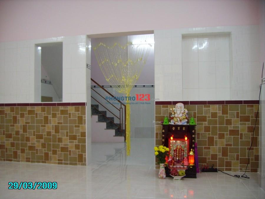 Cho thuê nhà nguyên căn 1 lầu 3,6x10 hẻm xe hơi tại 65/3 Trần Đình Xu, P.Cầu Kho, Q.1