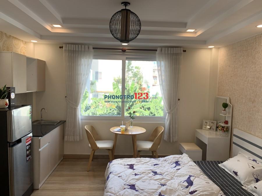 Phòng trọ Gò Vấp mới xây full nội thất cơ bản giá rẻ