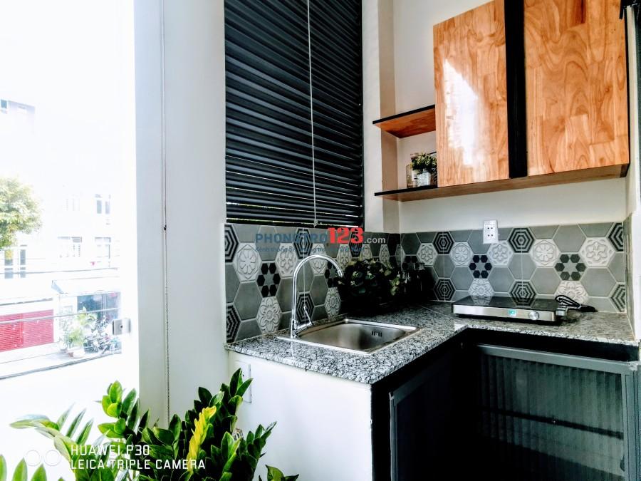 Cho thuê phòng trọ cao cấp giá siêu rẻ, full nội thất, Mới 100%_Nguyễn Văn Linh, gần Quận 4. Ưu đãi lớn