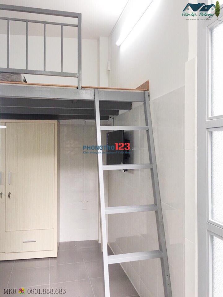 Phòng full nội thất - có gác - Giao thông thuận tiện- Giá chỉ 4,3tr/tháng