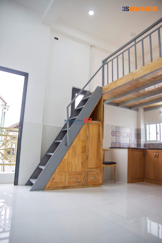 Căn hộ mới xây có sẵn nội thất ngay mặt tiền đường Hậu Giang, quận 6