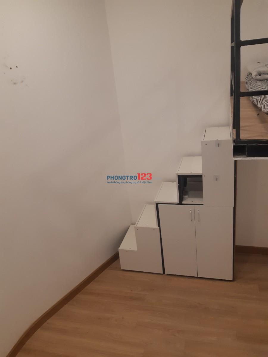 Phòng gác lửng cho thuê quận Bình Thạnh full tiện nghi, giá thuê chỉ 5 triệu/tháng!!