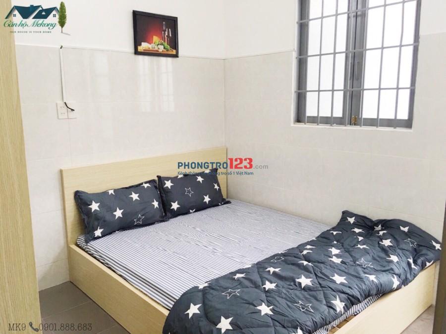 Cho thuê phòng full nội thất - ban công thoáng mát - quận Bình Thạnh
