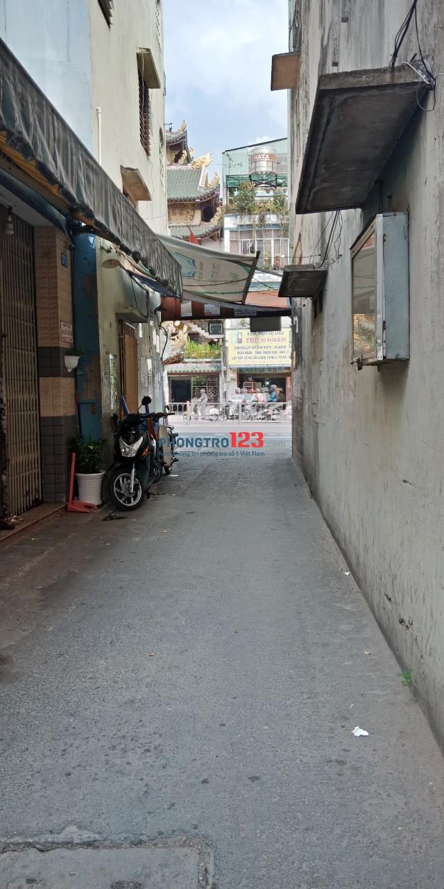Cho thuê nhà nguyên căn 1 lầu 95m2 2pn tại Hẻm 377 Bạch Đằng, P.15, Bình Thạnh. Giá 9tr/th
