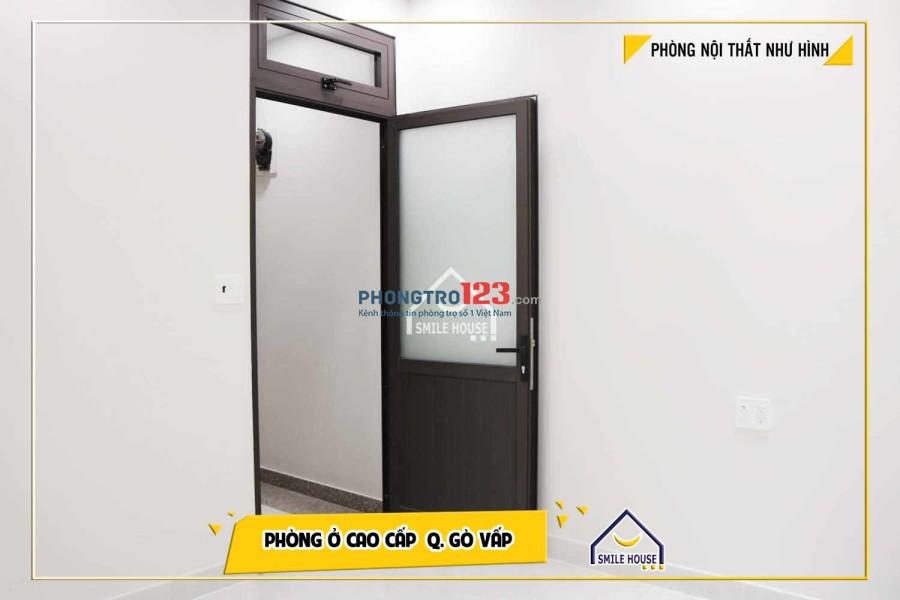 Cho thuê phòng trọ 116 Dương Quảng Hàm, Phường 5, Gò Vấp - Tủ lạnh, máy giặt, tủ bếp.....