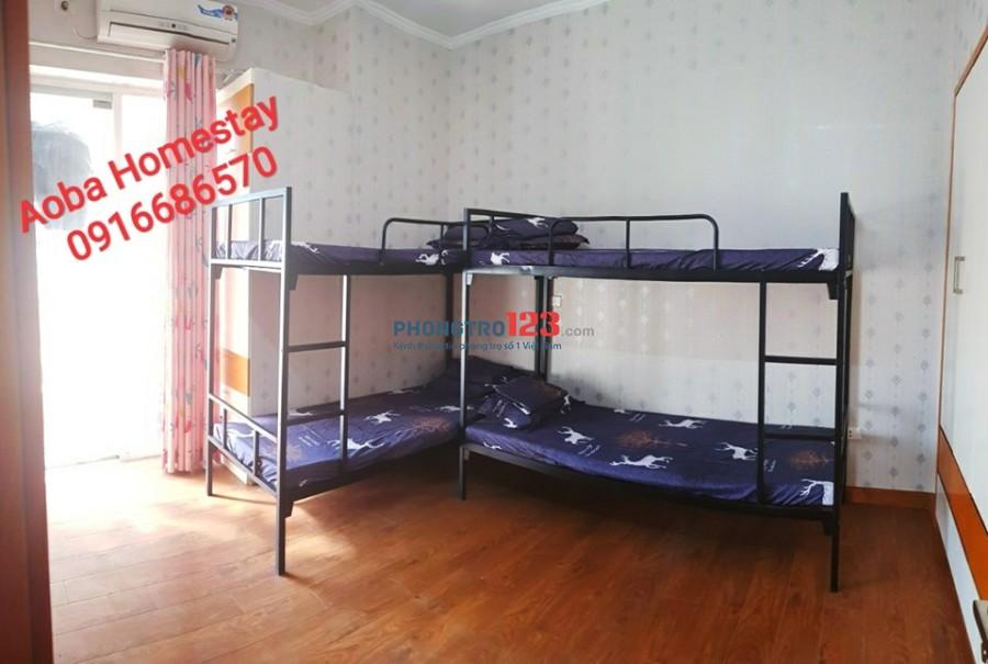 Homestay (Ở ghép giường tầng) tại Công Viên Cầu Giấy, 1500k/tháng miễn phí điện nước