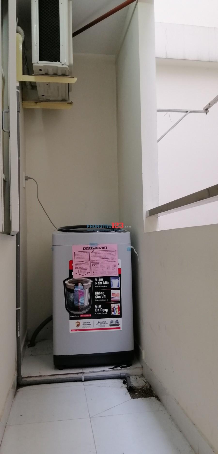 Phòng mới đẹp ban công, máy lạnh, thang máy, bảo vệ chỉ 3.6tr đến 4.2tr