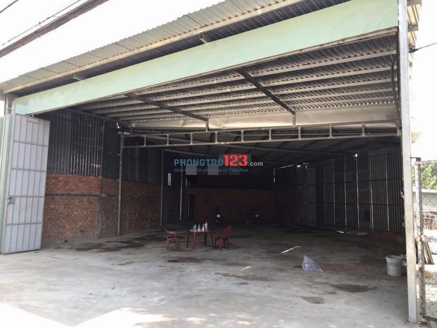 Cho thuê kho xưởng 10x25 mặt tiền Đường Quách Điêu, Xuân Thới Thượng, Hóc Môn