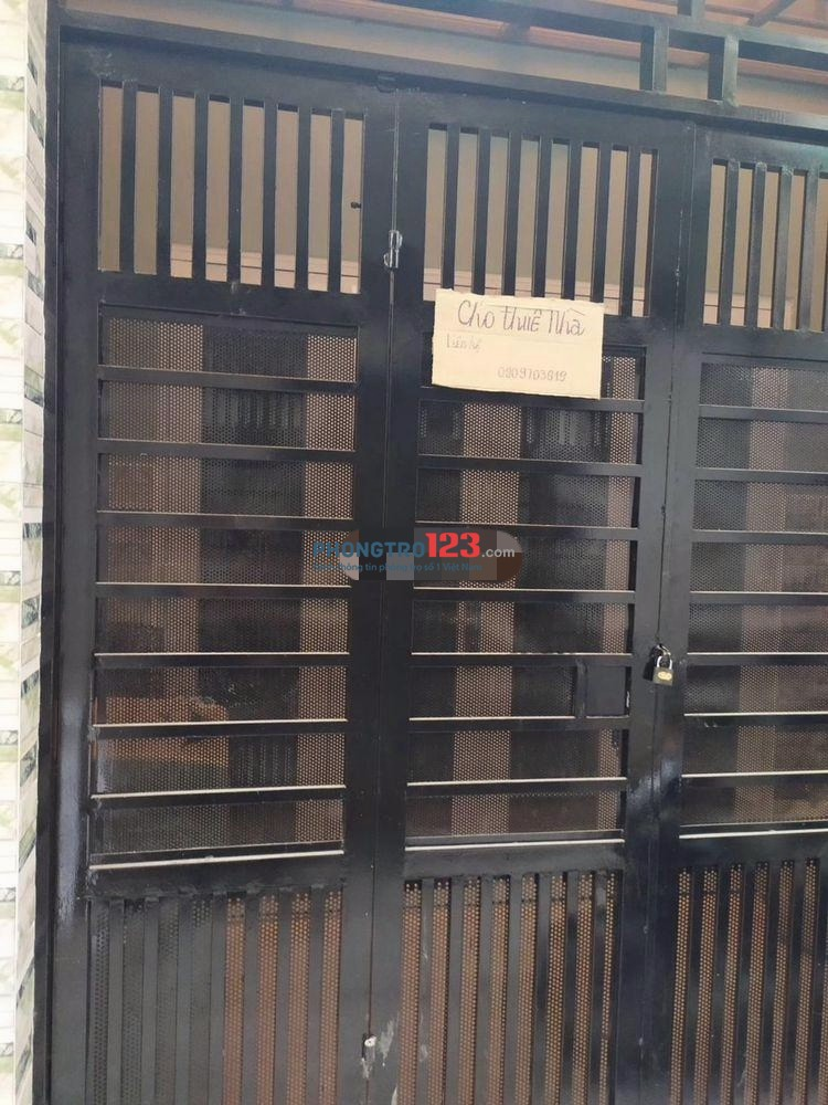 Cho thuê nhà mới nguyên căn 1 lầu 3x18 2pn 2wc Tại Nam Kỳ Khởi Nghĩa, Q.3. Giá 14tr/tháng