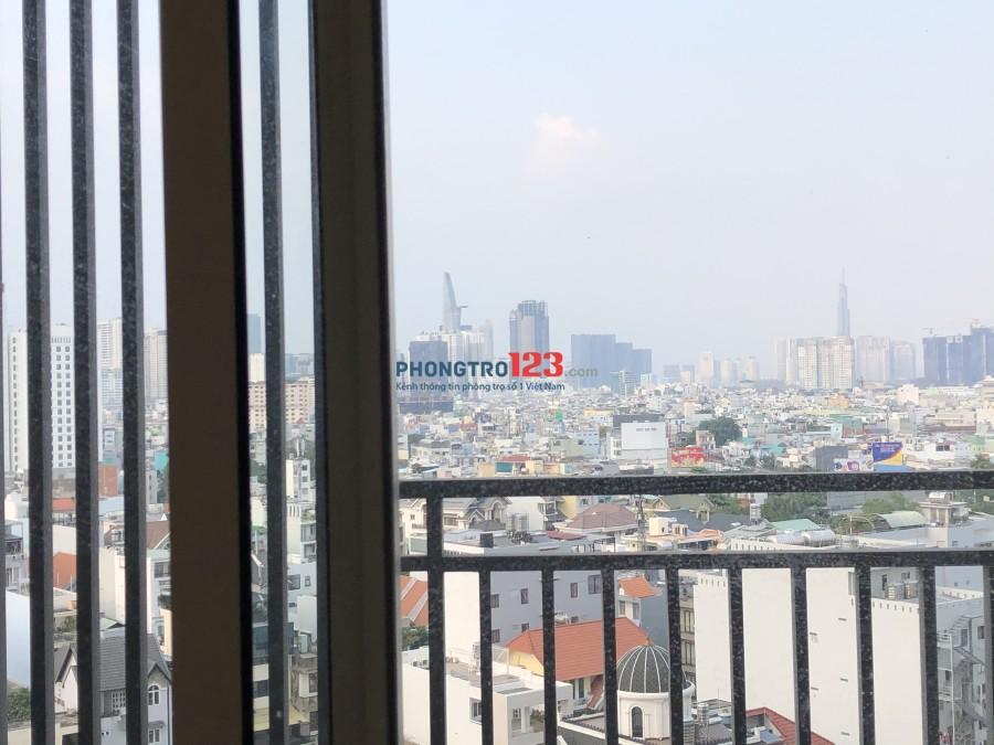 Căn hộ officetel hiện đại - view cực đẹp nhìn ra Quận 1 - 38m2 - có phân phòng ngủ