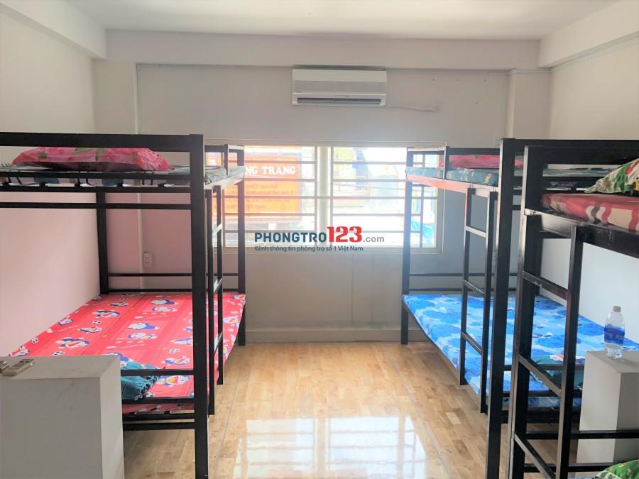 Ký túc xá cao cấp, Full nội thất đường Bàu Cát 6, Tân Bình, giá thuê 1.1 triệu/th
