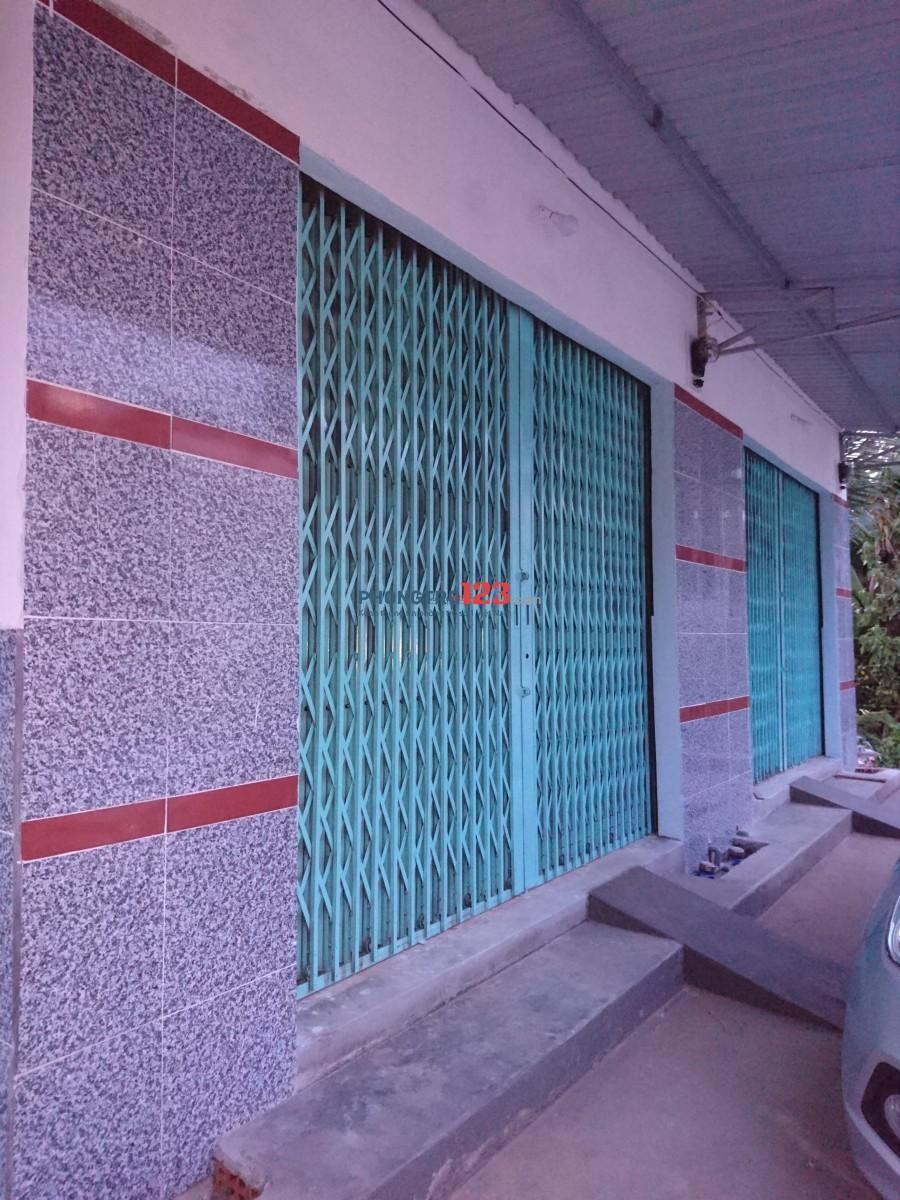 Kiot cho thuê đường hẻm Lê Hồng Phong, Phú Thọ, Thủ Dầu Một, Bình Dương