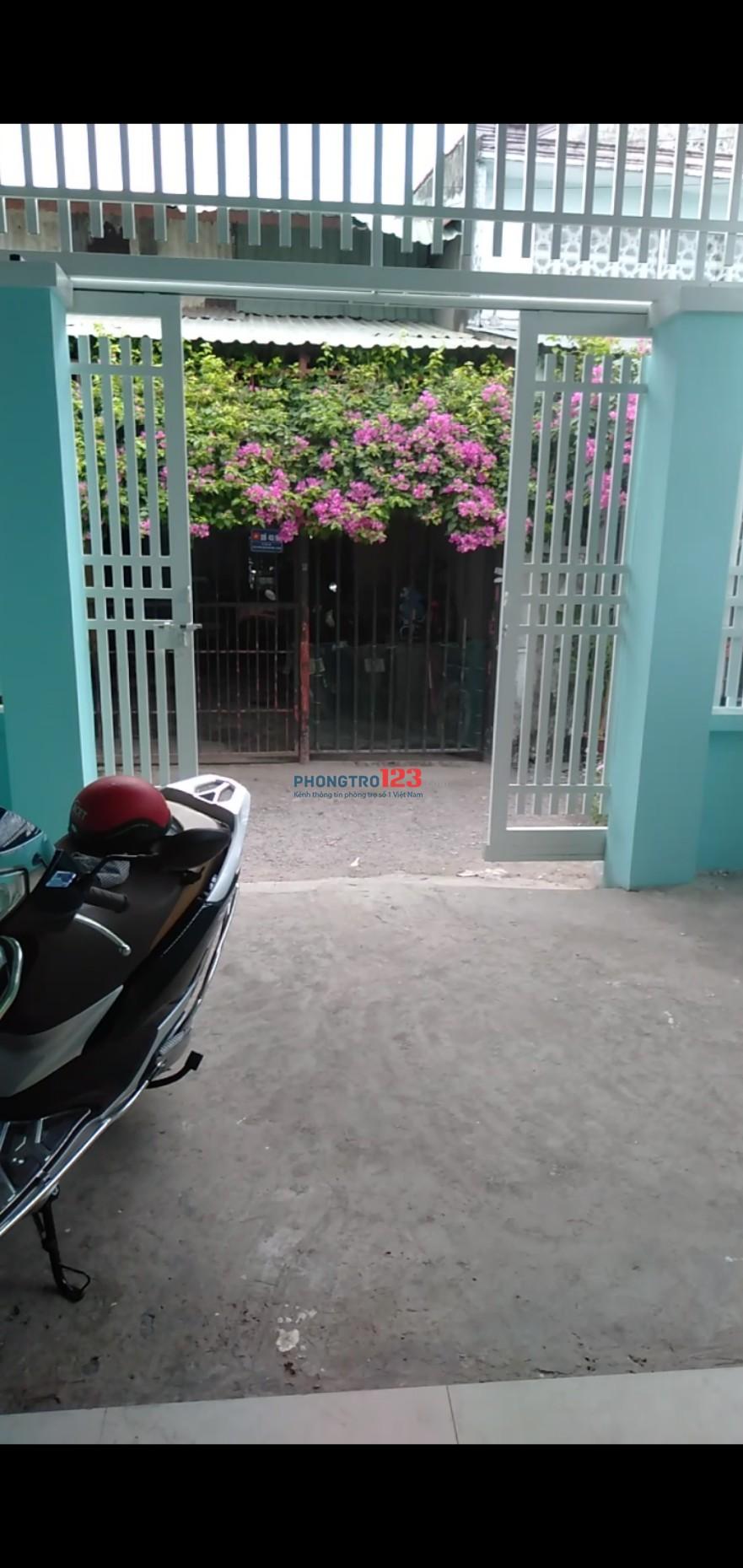 Cần cho thuê nhà nguyên căn (5mx20m) gần chợ Bà Điểm