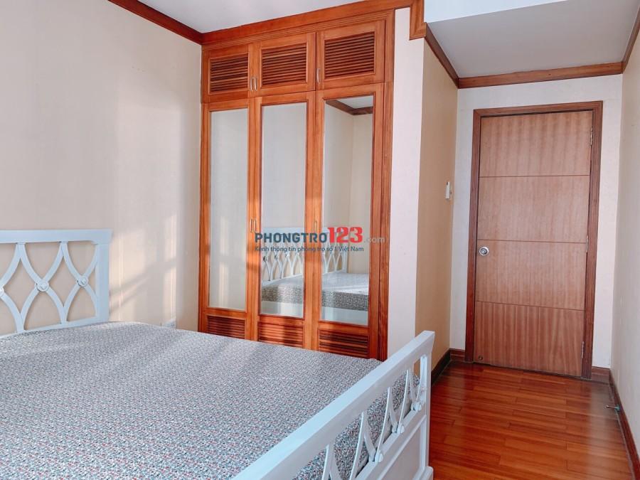 Mình cần share lại 2 phòng trong chung cư HAGL3 (NEW SG) Full nội thất