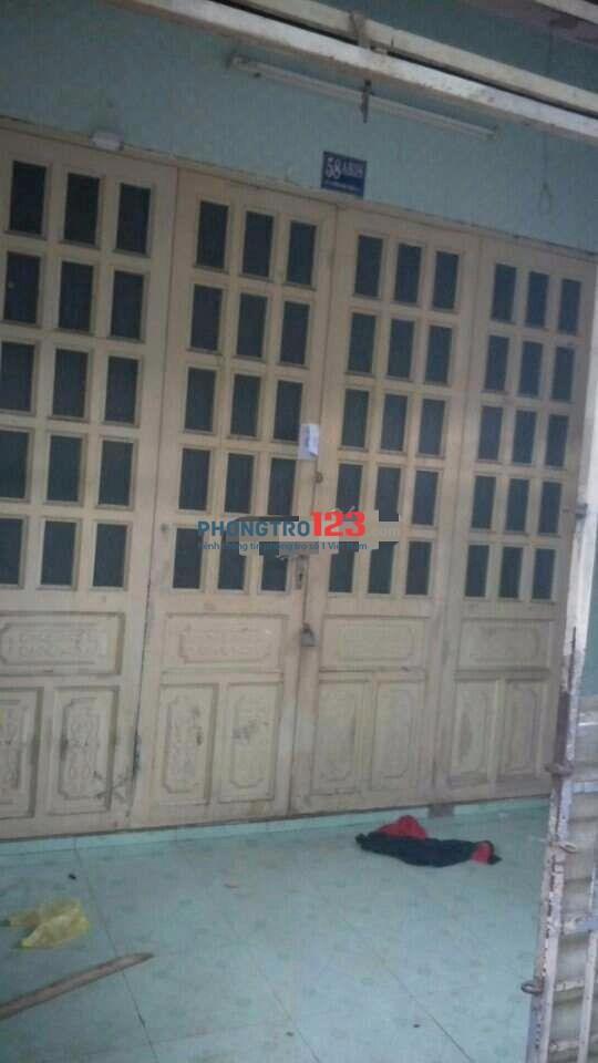 Chính chủ cho thuê nhà 80m2 1 sẹc Nguyễn Văn Quá, P.Đông Hưng Thuận, Q.12. Giá 4tr/th